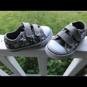 Children's Place Shoes - Grey, white and black children's sneakers